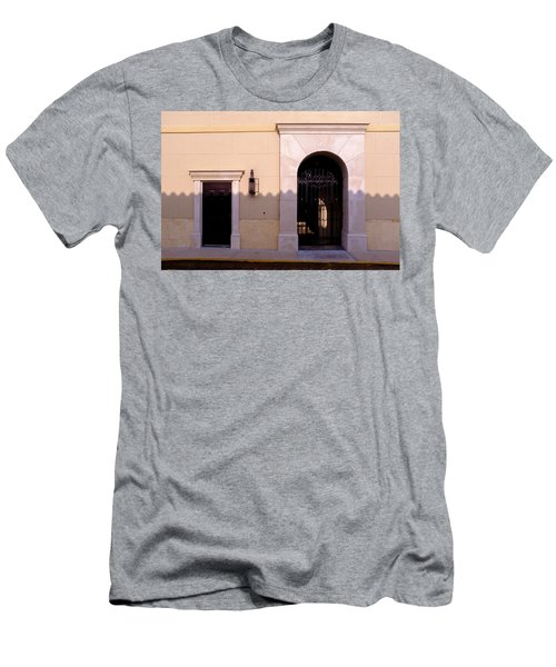 Archway In An Alley In Downtown Winter Park Florida Men's T-Shirt (Athletic Fit)