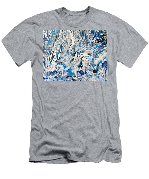 Arctic Frenzy Men's T-Shirt (Athletic Fit)