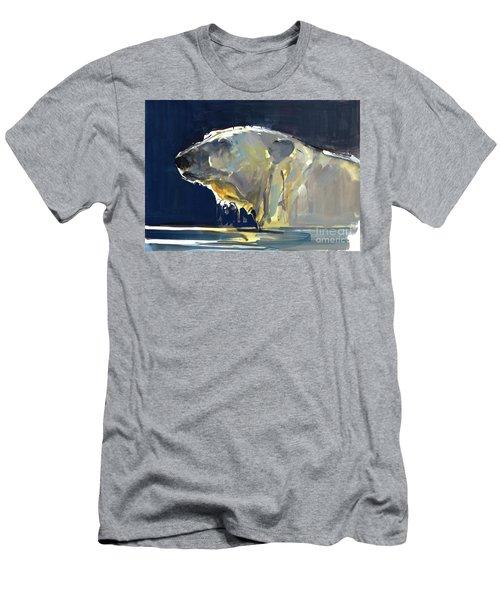 Arctic Silhouette Men's T-Shirt (Athletic Fit)