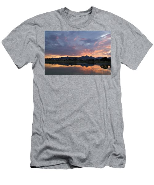Arizona Sunset Men's T-Shirt (Athletic Fit)