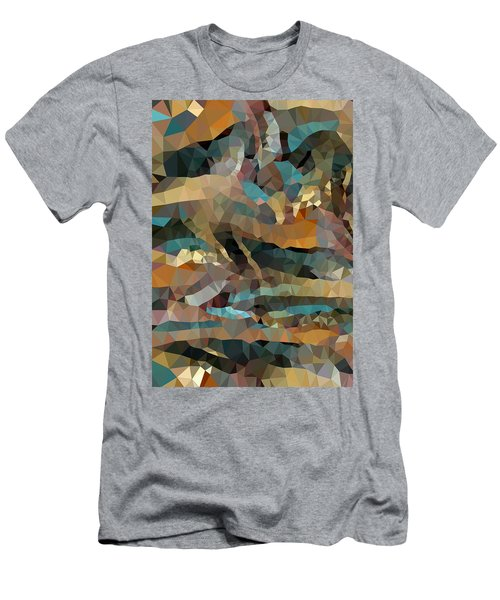 Arizona Triangles Men's T-Shirt (Athletic Fit)