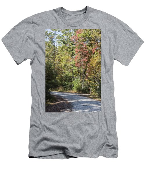 Around The Bend Men's T-Shirt (Slim Fit) by Ricky Dean