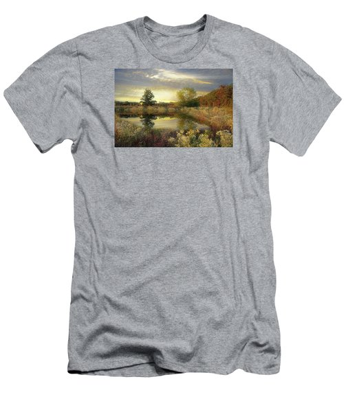 Men's T-Shirt (Slim Fit) featuring the photograph Arrival Of Dawn by John Rivera