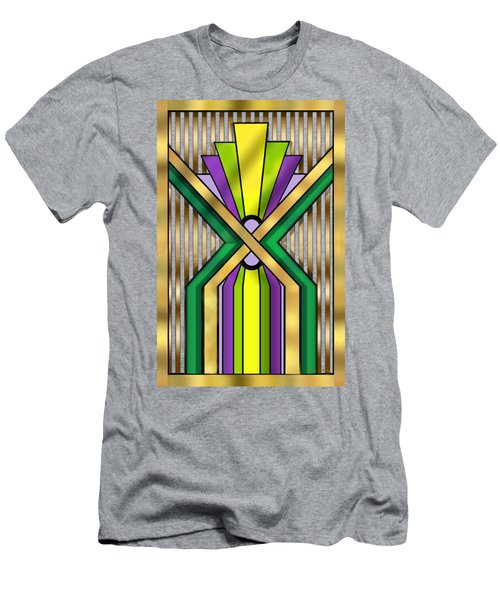 Art Deco 14 B Transparent Men's T-Shirt (Slim Fit)