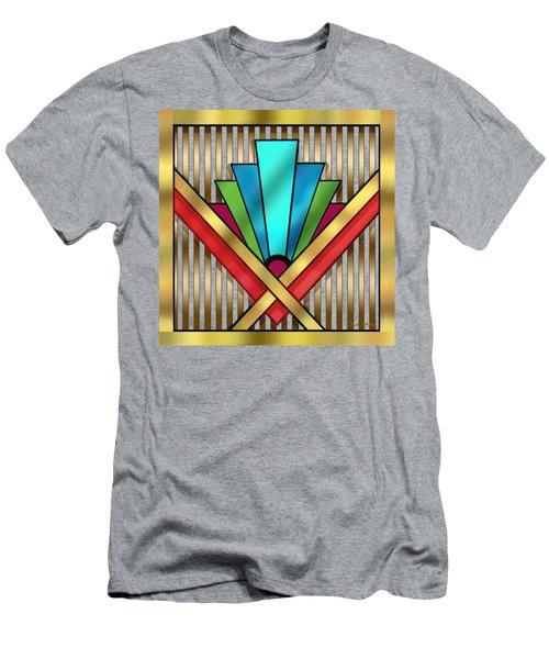 Art Deco 15 Transparent Men's T-Shirt (Athletic Fit)