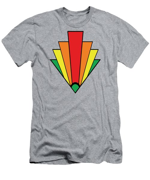 Art Deco Chevron - Chuck Staley Men's T-Shirt (Slim Fit)