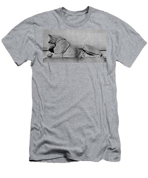 Art Deco Great Dane Men's T-Shirt (Athletic Fit)