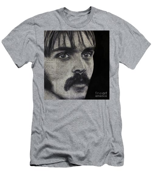 Art In The News 95-steve Prefontaine Men's T-Shirt (Athletic Fit)