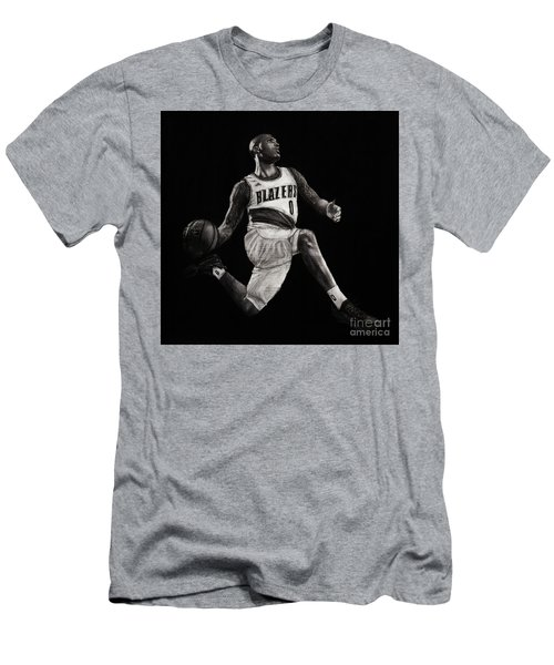 Art In The News- Lillard Men's T-Shirt (Athletic Fit)