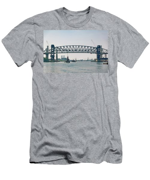 Arthur Kill The Four Tugs Men's T-Shirt (Slim Fit) by Steven Richman