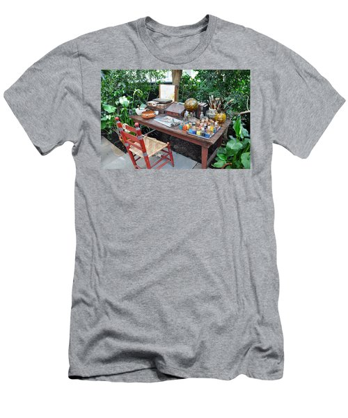 Frida Kahlo's Desk And Chair Men's T-Shirt (Athletic Fit)