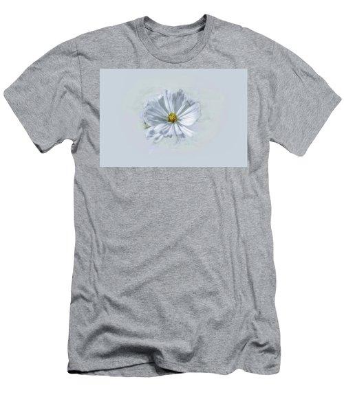Artistic White #g1 Men's T-Shirt (Slim Fit)