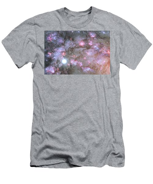 Men's T-Shirt (Slim Fit) featuring the digital art Artist's View Of A Dense Galaxy Core Forming by Nasa