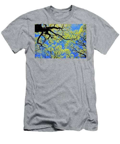 Artsy Tree Canopy Series, Early Spring - # 03 Men's T-Shirt (Athletic Fit)