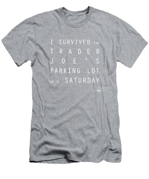 Trader Joe's Parking Lot Men's T-Shirt (Athletic Fit)