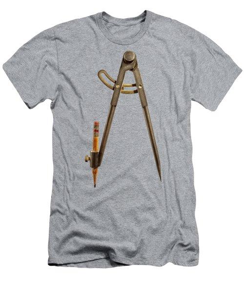 Iron Compass Backside Men's T-Shirt (Athletic Fit)