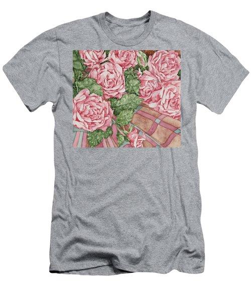 Love Of Roses Men's T-Shirt (Slim Fit) by Kim Tran