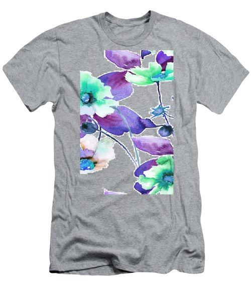 Flowers 01 Men's T-Shirt (Athletic Fit)