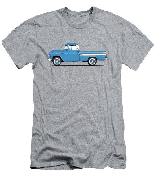 Cameo Pickup 1957 Men's T-Shirt (Slim Fit) by Mark Rogan