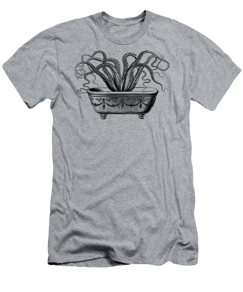 Tentacles In The Tub Men's T-Shirt (Athletic Fit)
