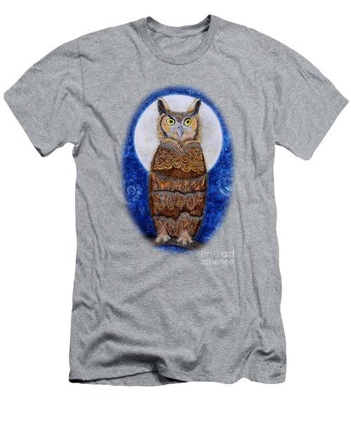 Paisley Moon Men's T-Shirt (Athletic Fit)