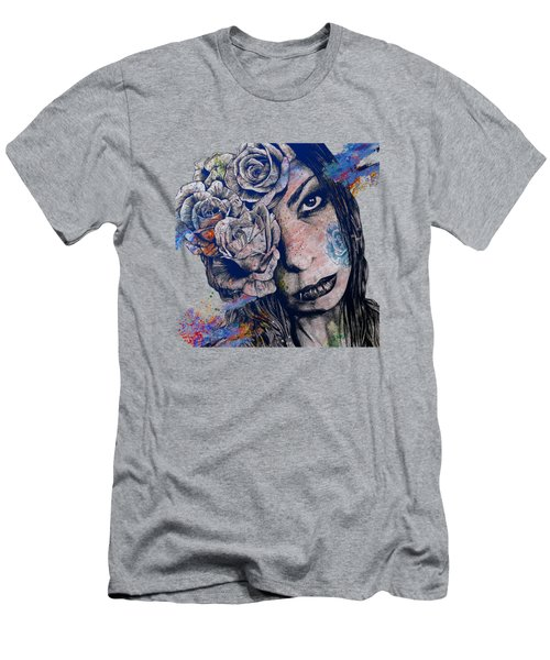 Of Blue Suffering Men's T-Shirt (Athletic Fit)