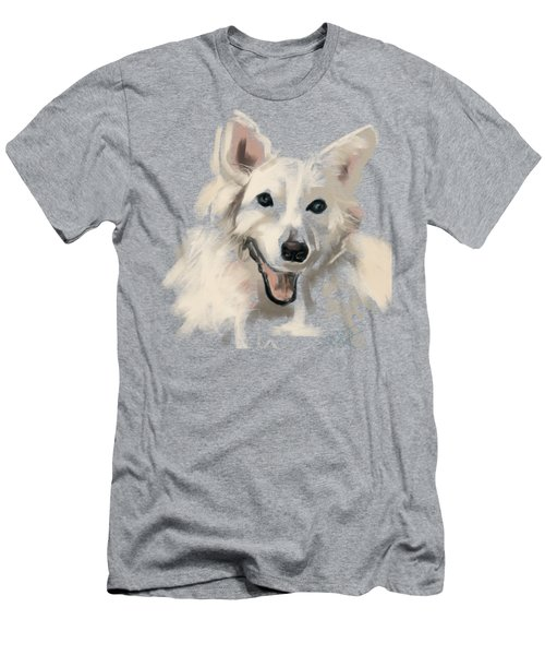 Dog Olaf Men's T-Shirt (Athletic Fit)