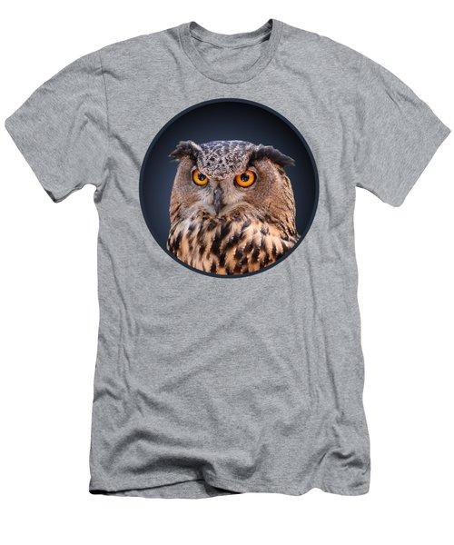 Eagle Owl Men's T-Shirt (Athletic Fit)