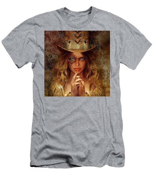 Steampunk Traveler Men's T-Shirt (Athletic Fit)