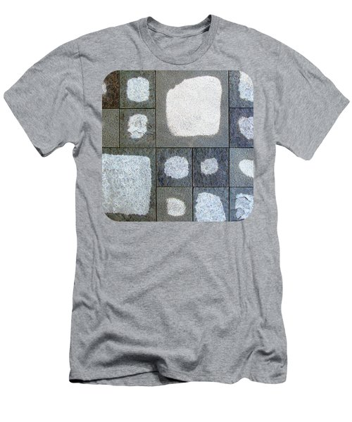 While We Were Having Lunch It Rained Men's T-Shirt (Slim Fit) by Ethna Gillespie