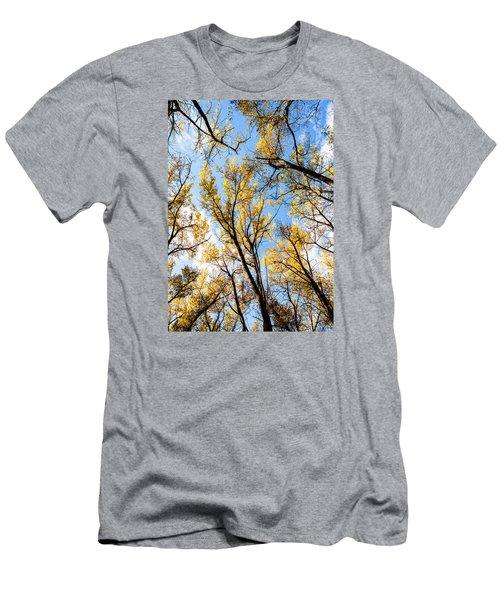 Looking Up Men's T-Shirt (Slim Fit) by Bill Kesler