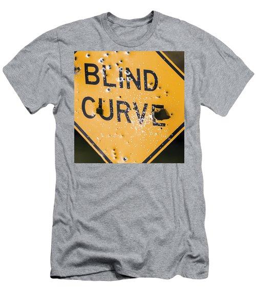 Blind Curve Men's T-Shirt (Slim Fit) by Bill Kesler