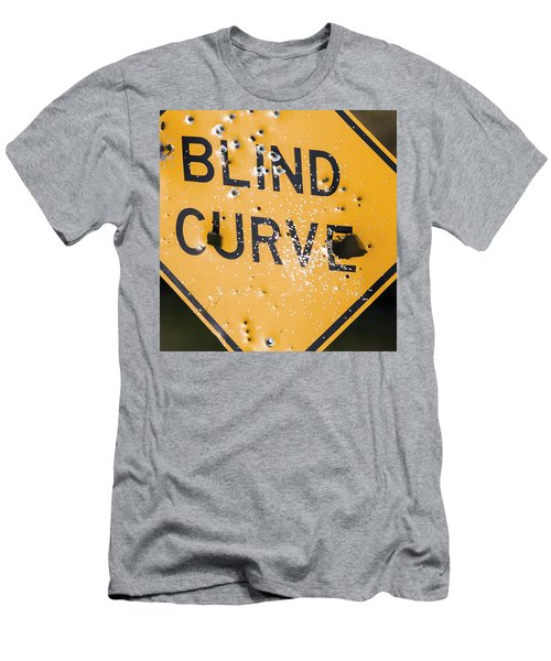 Blind Curve Men's T-Shirt (Athletic Fit)