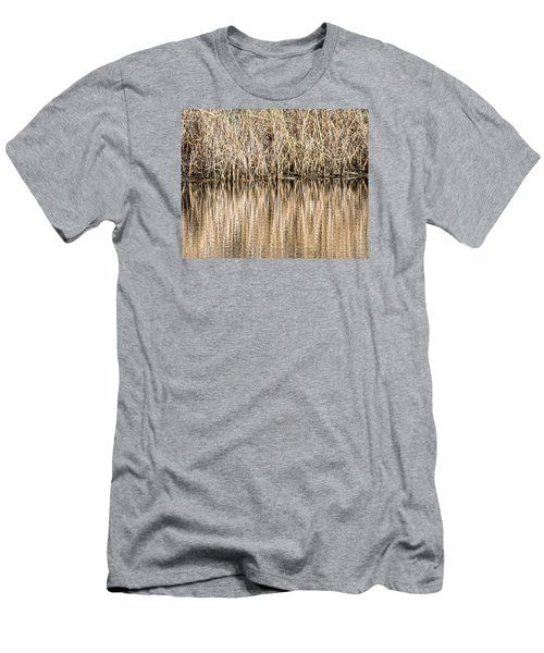 Golden Reed Reflection Men's T-Shirt (Athletic Fit)