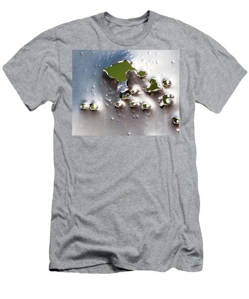 Men's T-Shirt (Slim Fit) featuring the photograph Dimpled And Ripped by Bill Kesler