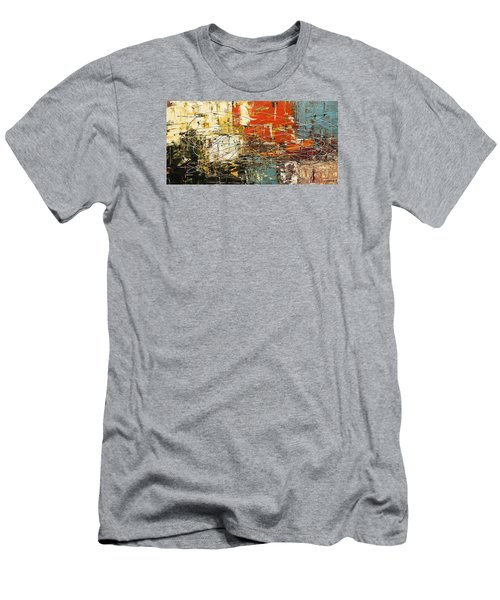 Men's T-Shirt (Slim Fit) featuring the painting Artylicious by Carmen Guedez