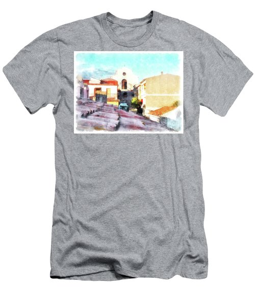 Arzachenaroof And Church Men's T-Shirt (Athletic Fit)