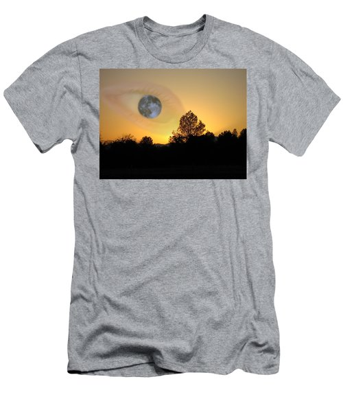 Men's T-Shirt (Slim Fit) featuring the photograph As I See It by Joyce Dickens