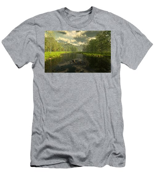 As The River Flows Men's T-Shirt (Athletic Fit)