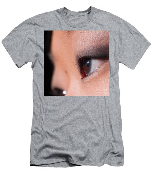 Asian Girl Eyes 1283053 Men's T-Shirt (Athletic Fit)