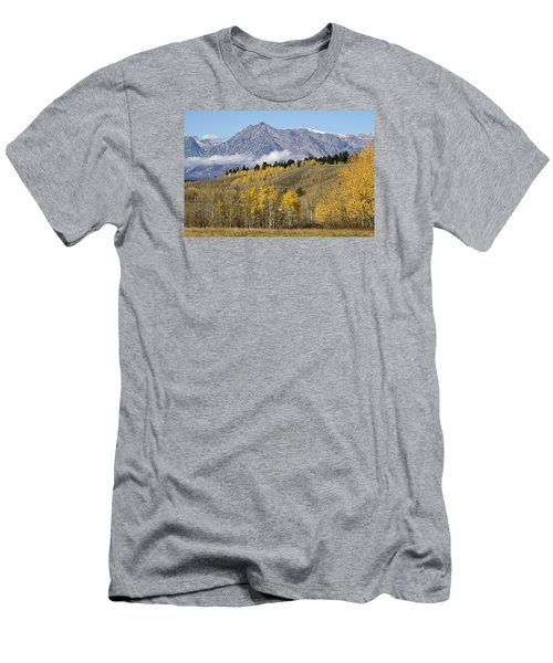 Aspen Colours Men's T-Shirt (Slim Fit) by Shirley Mitchell