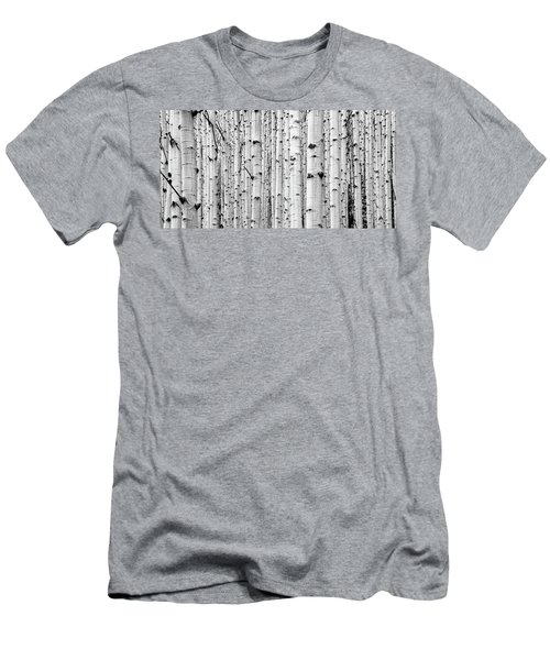 Men's T-Shirt (Athletic Fit) featuring the photograph Aspen Grove by Stephen Holst