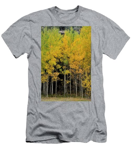 Men's T-Shirt (Athletic Fit) featuring the photograph Aspen Haven  by Ron Cline