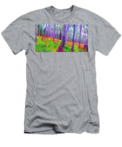 Aspens In Wonderland Men's T-Shirt (Athletic Fit)