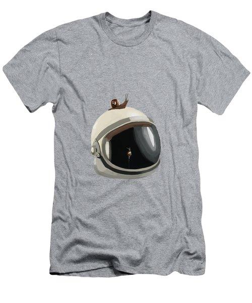 Astronaut's Helmet Men's T-Shirt (Athletic Fit)