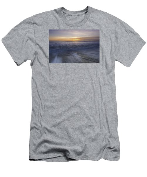 At Beach Men's T-Shirt (Slim Fit) by Catherine Lau