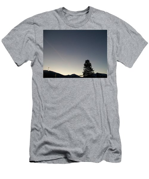 Men's T-Shirt (Slim Fit) featuring the photograph At Dusk by Jewel Hengen