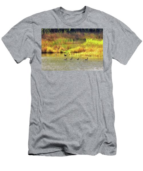 At Home In Monee Men's T-Shirt (Athletic Fit)