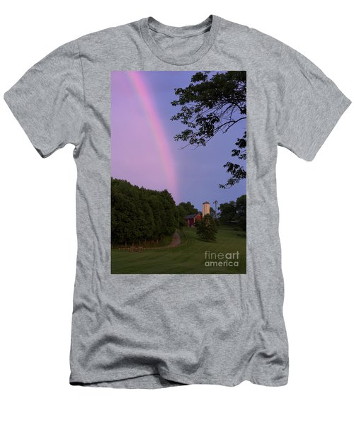 At The End Of The Rainbow Men's T-Shirt (Slim Fit) by Nicki McManus