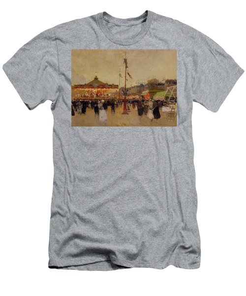 At The Fair  Men's T-Shirt (Athletic Fit)